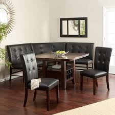 black kitchen dining sets:  rustic corner bench dining table set corner nook dining set remarkable bench kitchen