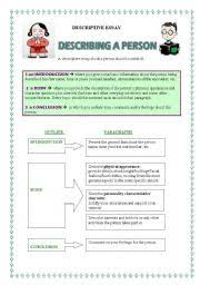 describing people essay descriptive essay   describing people