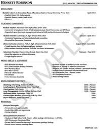 sample resumes   university career serviceseducation
