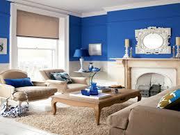 blue brown wall decor beautiful blue living room interior design ideas blue paint wall decor