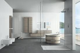 coastal bathroom designs: coastal round bathtub bathroom design ideas tiles furniture