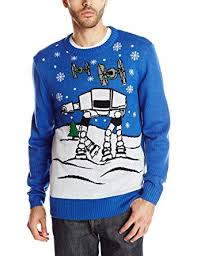 Star Wars Men's Ugly Christmas Sweater: Clothing - Amazon.com