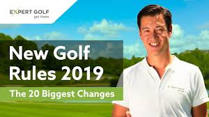 <b>NEW</b> GOLF RULES <b>2019</b> | The 20 Most Important CHANGES ...