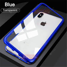 Suitable For IPhone XS MAX Magnetic Protective Shell Adsorption ...