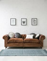 sofa chesterfield leather brown carpet interior design ideas chesterfield furniture history