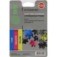 Комплект <b>картриджей Cactus CS</b>-<b>CLI426C</b> / <b>M</b> / <b>Y</b> 3 шт. в упаковке ...