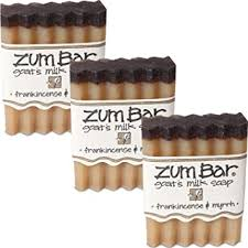 Indigo Wild Zum Bar Goat's Milk Soap - Frankincense ... - Amazon.com