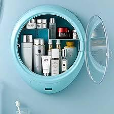 XENOTY <b>Wall Mount Makeup Storage Organizer</b> for Bathroom ...