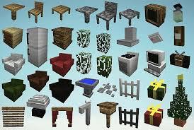 Resultado de imagem para mrcrayfish furniture mod 1.8