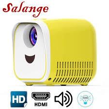 Buy Online Salange <b>L1 LED Projector</b> 480x320 Pixels Support ...