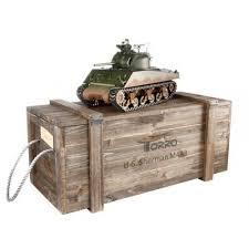 <b>Радиоуправляемый танк Torro Sherman</b> M4A3 ИК RTR масштаб 1 ...