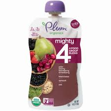 Plum Organics Tots Mighty 4 Food Group Blend, 4 oz - Kroger