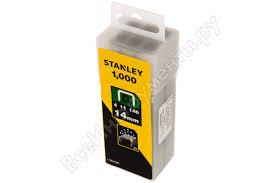 <b>Скоба</b> (1000 шт; 14 мм; тип G) для степлеров <b>Stanley</b> 1-TRA709T ...