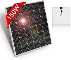 DOKIO 150 Watt 12 Volt / 18volt Monocrystalline ... - Amazon.com