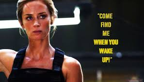 "Come find me when you wake up!"" - Edge of Tomorrow Citat ..."