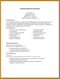 sample resume for accounting graduate out experience make resume sample resume for accounting graduate out experience make