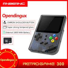 IPS RG300 INCH <b>Video games</b> Portable <b>Retro</b> FC <b>console Retro</b> ...