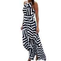 Discount <b>Plus</b> Size Striped Bodycon Dresses
