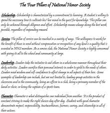 national honor society essay  national junior honor society essay    national honor society
