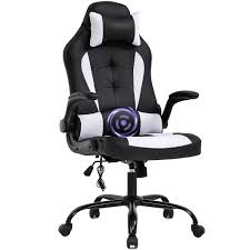 PC <b>Gaming Chair</b> Massage Office Chair Ergonomic Desk Chair ...