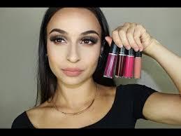 <b>MAC</b> Retro Matte Liquid Lipsticks | Swatches - YouTube