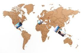 <b>Деревянная карта мира World</b> Map True Puzzle Small, коричневая ...