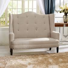 tufted dining bench with back settee bench rattan settee loveseat settee