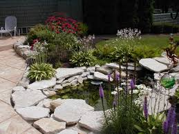 ideas patio pond pinterest