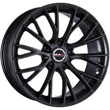 ALUFELGE <b>MAK</b> MUNCHEN <b>8x18 5x120</b> ET38 MAT BLACK BMW ...