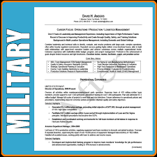military conversion resume only military resume writing