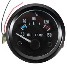 <b>2inch</b> 52mm <b>12V Universal</b> 50-150 °C Oil Temp Temperature Gauge ...