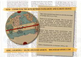 issue dyke a quarterly connecting the dots between patriarch and climate change 1978 dyke a quarterly graphic by