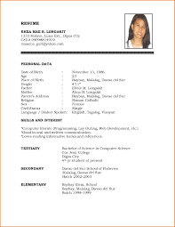 resume template word personal biodata format regarding resume template word personal biodata format template regarding 79 fascinating resume template word