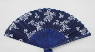 Hot Festive Classical flower <b>design Chinese style</b> blue fabric hand