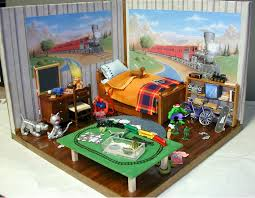 funiture wooden toy kids bedroom set