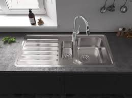 <b>New</b> from hansgrohe: <b>stainless steel</b> kitchen sink | hansgrohe INT