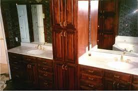 built bathroom vanity design ideas: fashionable idea built in bathroom vanities and cabinets