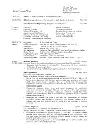 computer science graduate resumes template computer science graduate resumes