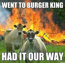 The Best Of The Evil Cows Meme | WeKnowMemes via Relatably.com