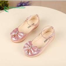 Bekamille Niños Princesa de Las Muchachas Zapatos de Cuero ...