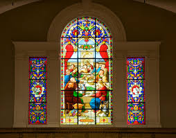 washington speaks stained glass windows concert at st the great altar window the last supper at st john s episcopal church lafayette square given by katherine b steele in honor of her mother