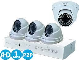 <b>Комплект видеонаблюдения</b> AHD 1MPX Для Дома и Офиса 4+4 ...