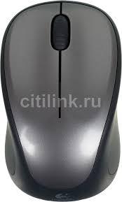 Купить <b>Мышь LOGITECH M235</b>, <b>беспроводная</b>, USB, серый и ...
