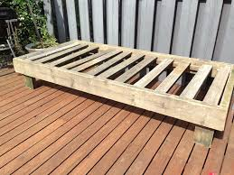 outdoor daybed diy building frame day bed