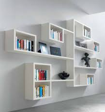 furniture amazing modern wall mounted shelves ideas modern white