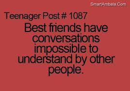Crazy Best Friend Quotes. QuotesGram via Relatably.com