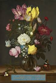 <b>Bouquet</b> of Flowers in a Glass Vase - Ambrosius Bosschaert the ...