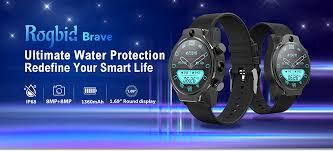 <b>Rogbid Brave 4G</b> Smartwatch Phone For Just $179.99 [Summer Sale]