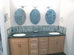 mirrors bathroom walls cool double
