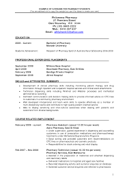 pharmacy intern resume getessay biz example of a resume for pharmacy students you are as pdf inside pharmacy intern